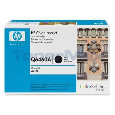 HP CLJ 4730 MFP TONER CART BLACK GOV